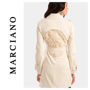 💯% Authentic MARCIANO LOVELACE TRENCH COAT (Rare)